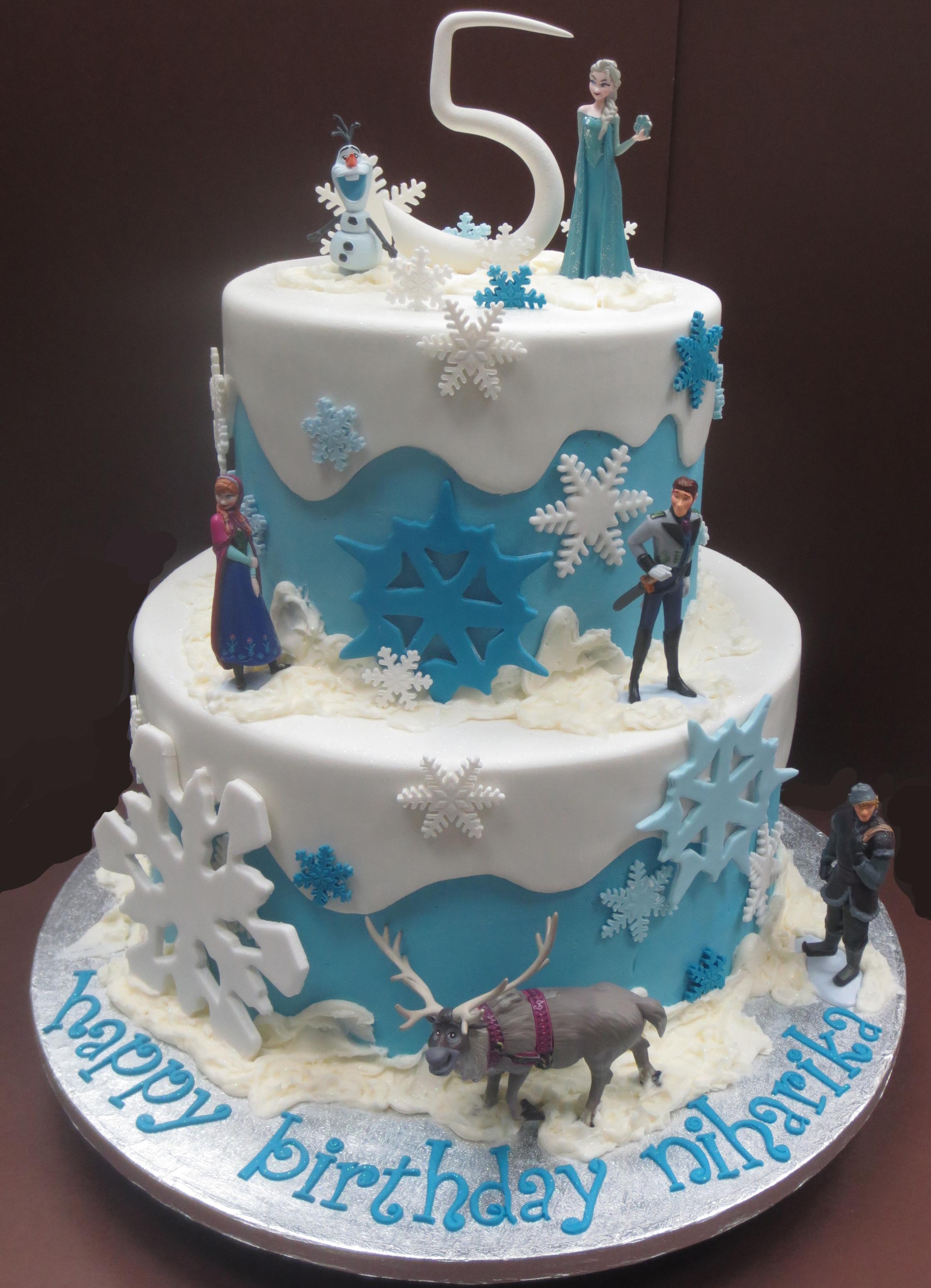 Magnificent 11 Frozen Birthday Cakes For Girls Photo Frozen Birthday Cake Funny Birthday Cards Online Elaedamsfinfo