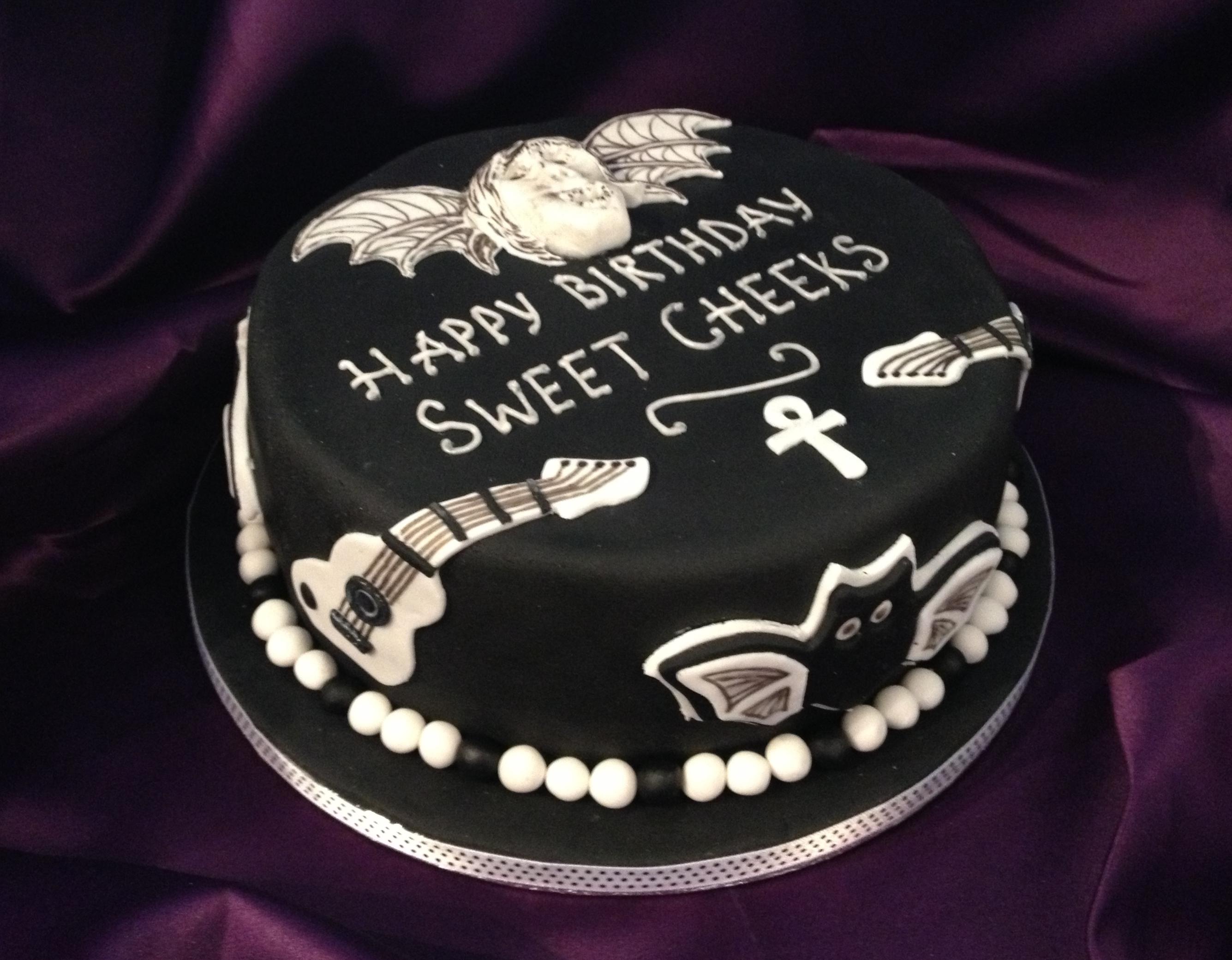 Fine 12 Gothic Happy Birthday Jamie Cakes Photo Happy Birthday Jamie Funny Birthday Cards Online Aeocydamsfinfo