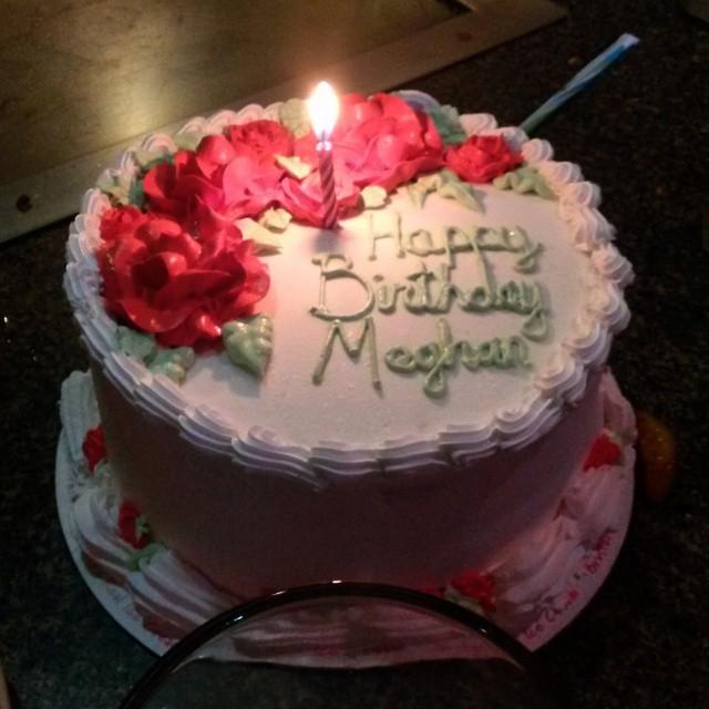 13 Birthday Cakes For Meghan Photo Happy Birthday Megan Cake