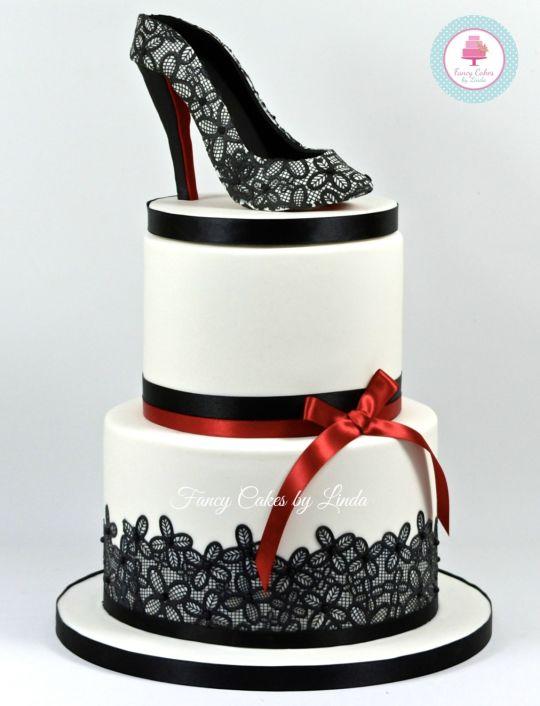 High Heel Shoe Cake Design