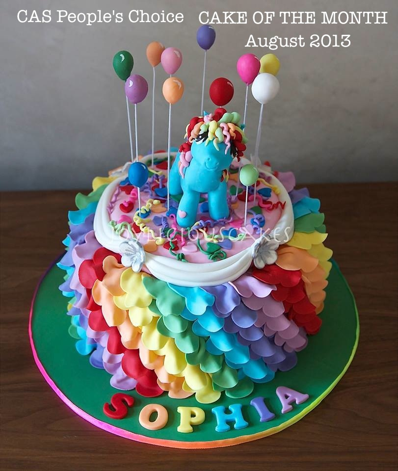 Pleasing 12 My Little Pony Cakes Decorated With Decorations Photo My Personalised Birthday Cards Sponlily Jamesorg