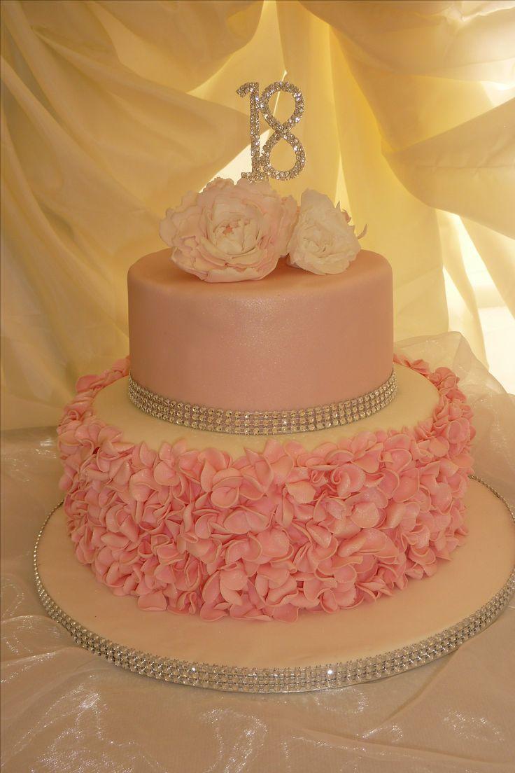Terrific 10 Jelexie Cakes Birthday For 18 Photo Girls 18Th Birthday Cake Birthday Cards Printable Trancafe Filternl