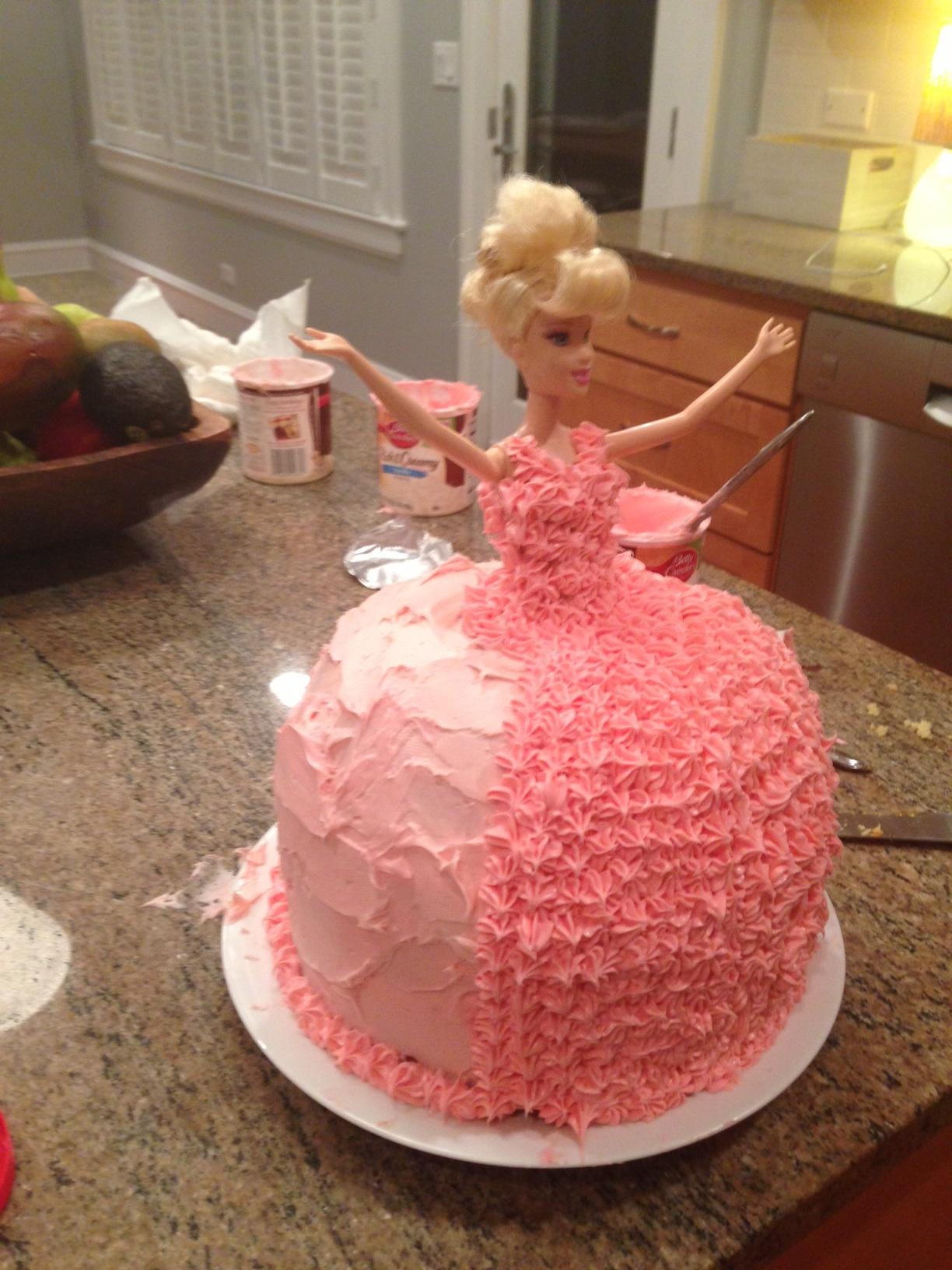 7 4 Year Old Girl Cakes Photo 4 Year Old Girl Birthday Cake 4