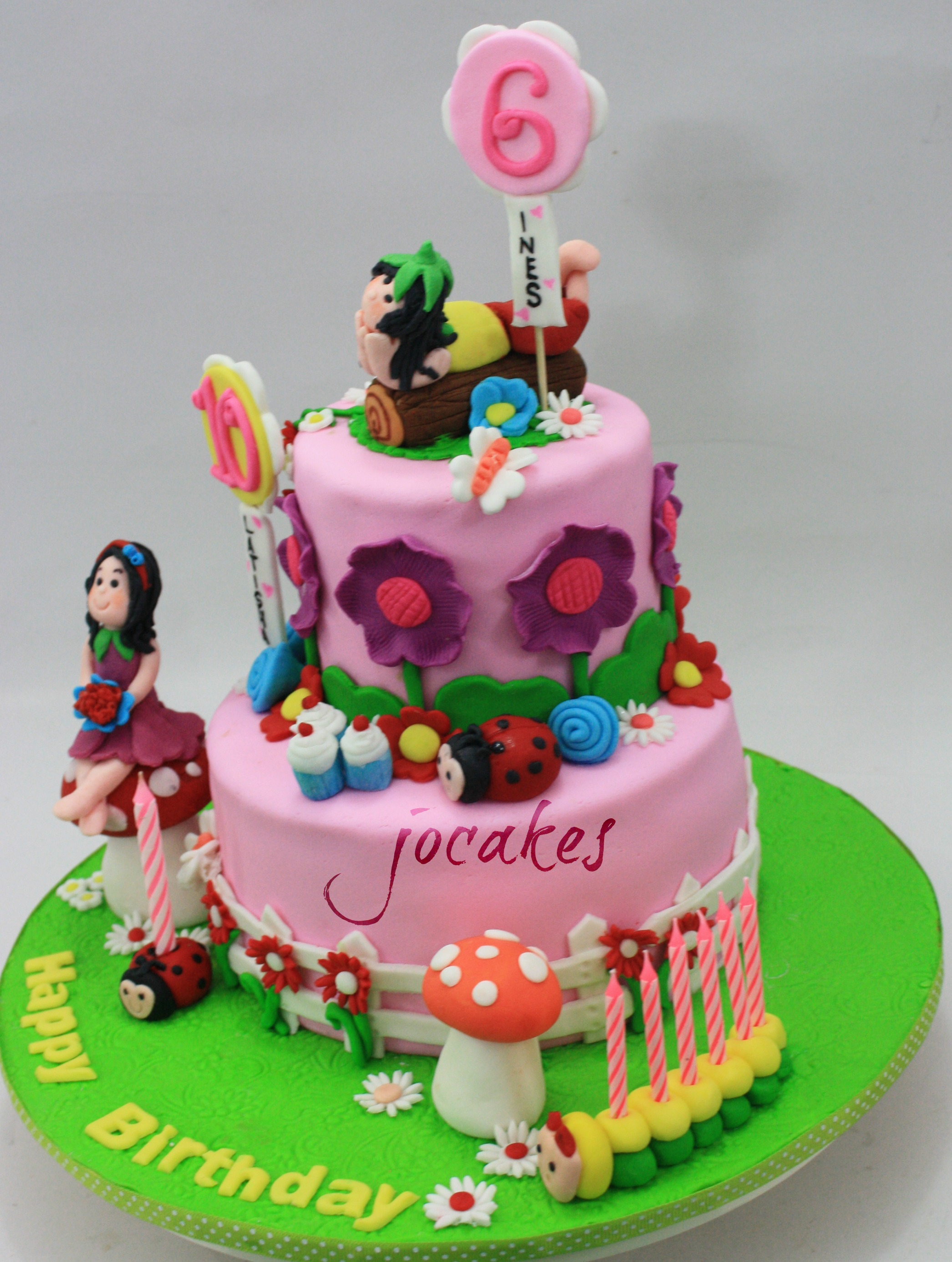 6 Year Old Girl Birthday Cakes