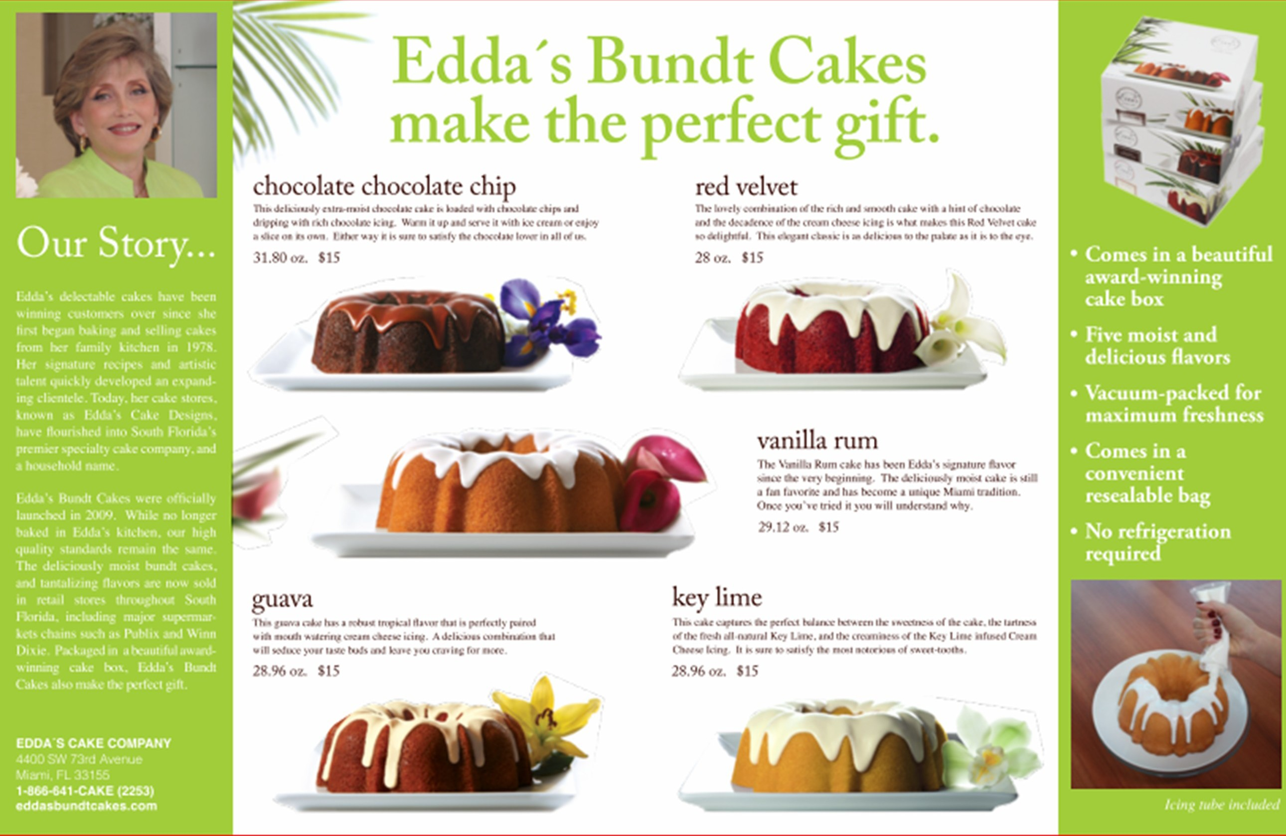 10 Photos Of Edda S Bundt Cakes