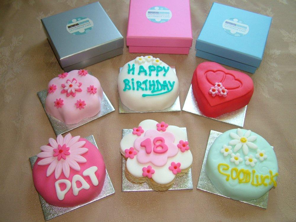 Groovy 10 Mini Birthday Cakes Delivered Photo Cupcake Bouquet Cake Personalised Birthday Cards Arneslily Jamesorg
