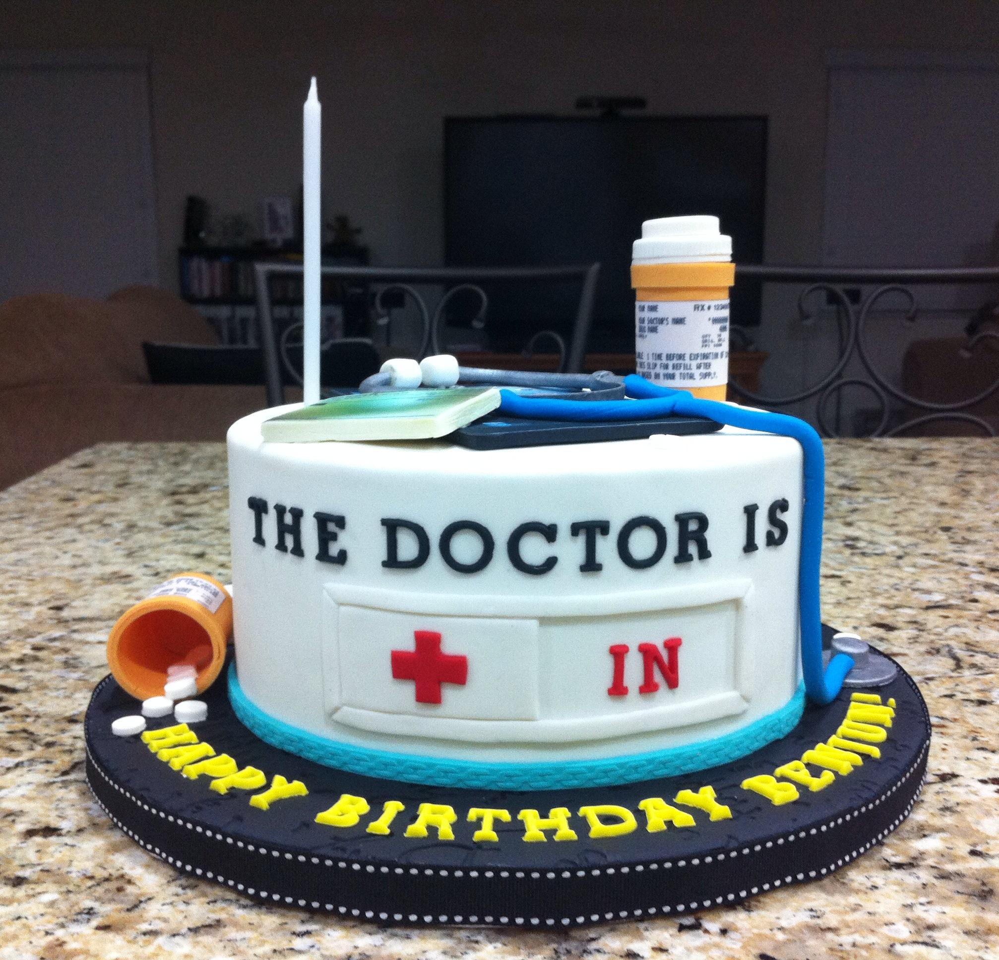 Doctor Themed Cakes Photo Nurse Birthday Party Doctors Jpg 2014x1936 Medical Cake