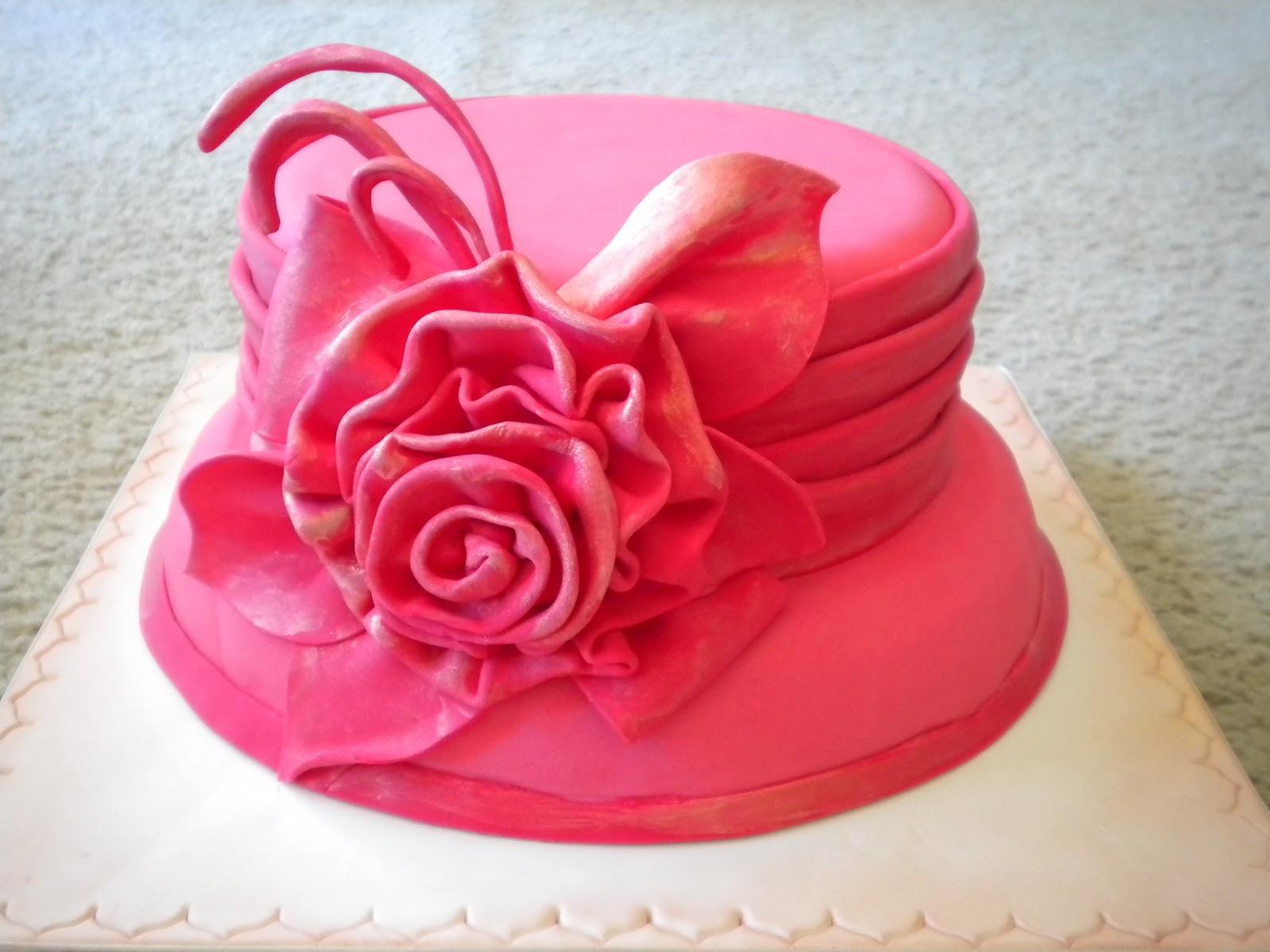 Fancy Hat Birthday Cake