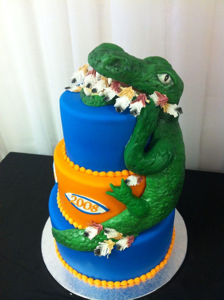 9 Uf Gator Cakes Photo Florida Gators Birthday Cake Florida