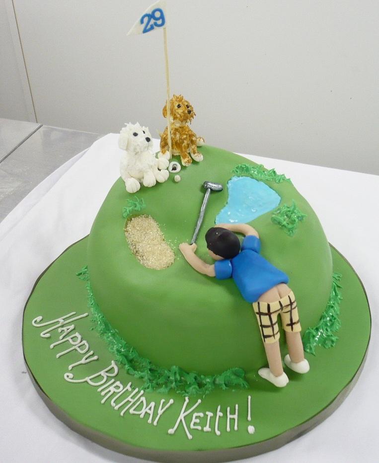 9 Fun Golf Birthday Cakes Photo Golf Birthday Cake Decorations