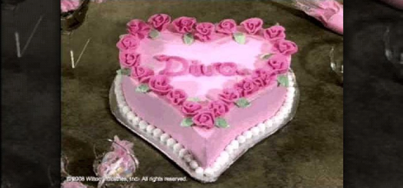 10 Heart Shaped Decorated Cakes Photo Wedding Anniversary Cake
