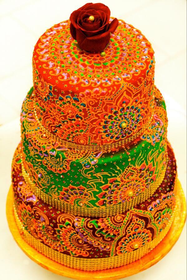 Tremendous 11 India Inspired Birthday Cakes Photo Indian Inspired Birthday Funny Birthday Cards Online Inifodamsfinfo