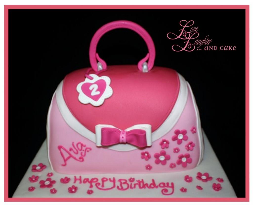 8 For Little Girls Purse Cakes Photo Little Girls Purse Birthday