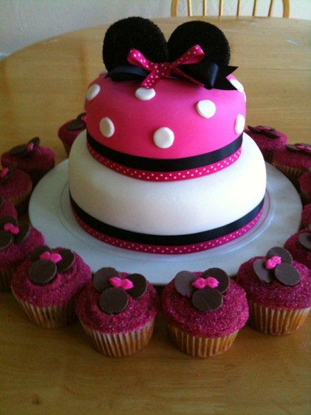 Minnie Mouse Birthday Cakes Walmart