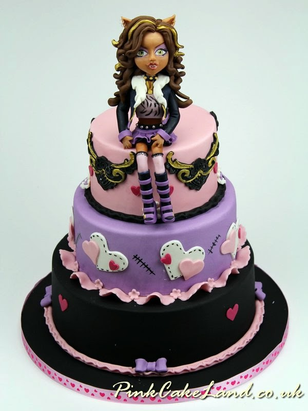 Magnificent 6 Clawdeen Monster High Birthday Cakes Photo Monster High Funny Birthday Cards Online Alyptdamsfinfo