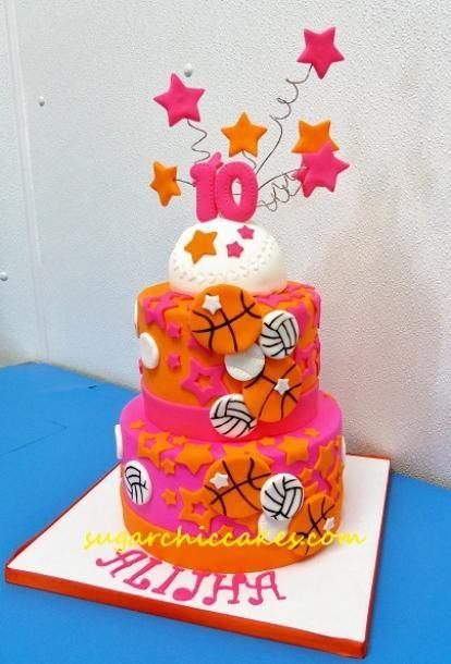 Wondrous 13 Basketball Themed Sweet 16 Cakes Photo Basketball Birthday Funny Birthday Cards Online Benoljebrpdamsfinfo