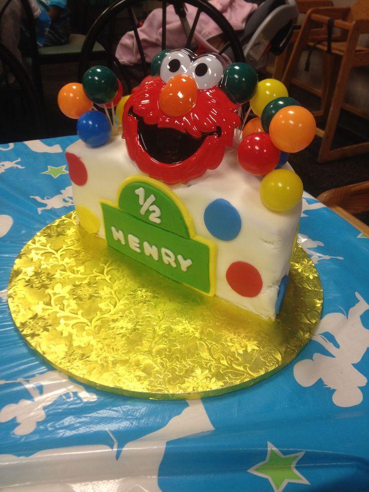 6 Month Baby Boy Birthday Cake