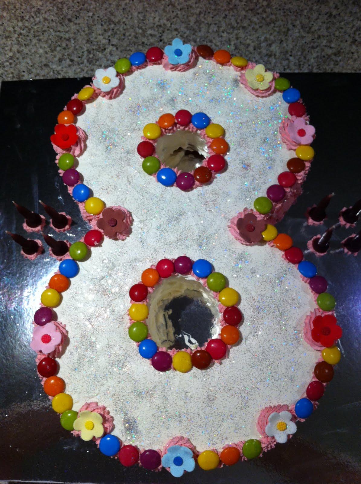 8 No 8 Shaped Cakes Photo 8 Shaped Birthday Cake Birthday Cake