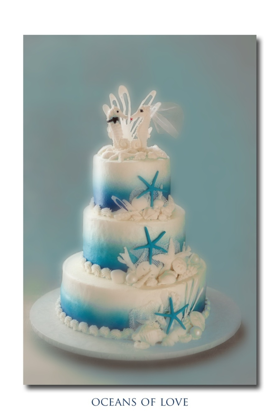 13 Beach Theme Wedding Cakes No Fondant Photo Beach Wedding Cake