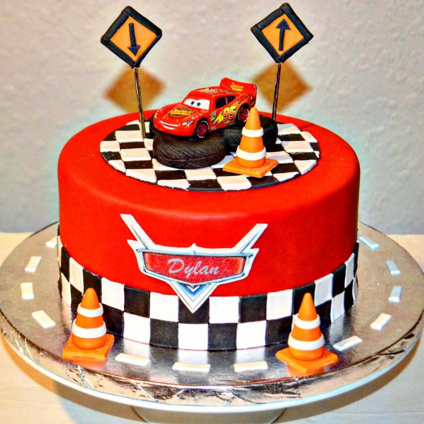 6 Disneys Cars Birthday Cakes 3 Photo Disney Cars Birthday Cake