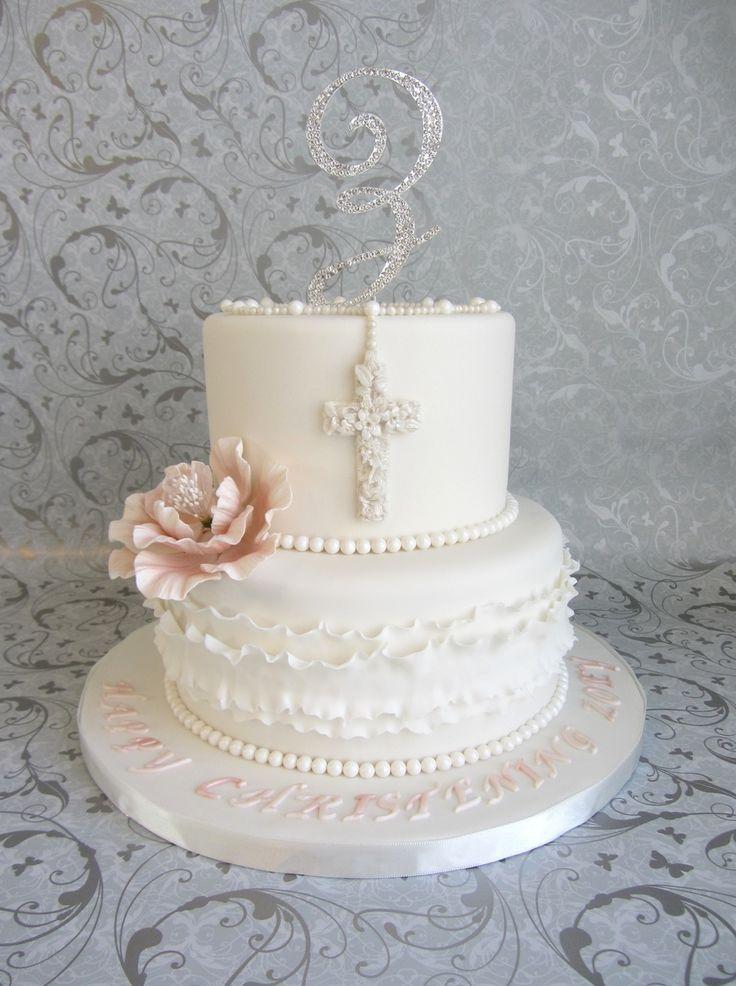Communion Cakes White