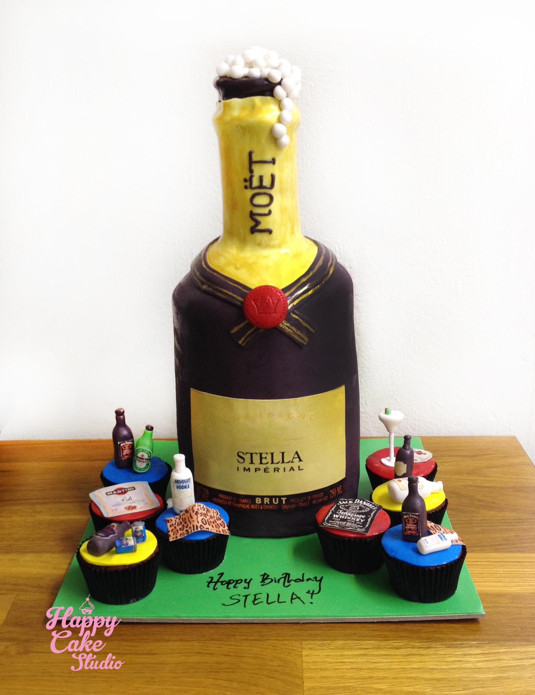 Astonishing 10 Alcohol Birthday Cakes 3D Photo Happy Birthday Alcohol Cakes Funny Birthday Cards Online Necthendildamsfinfo