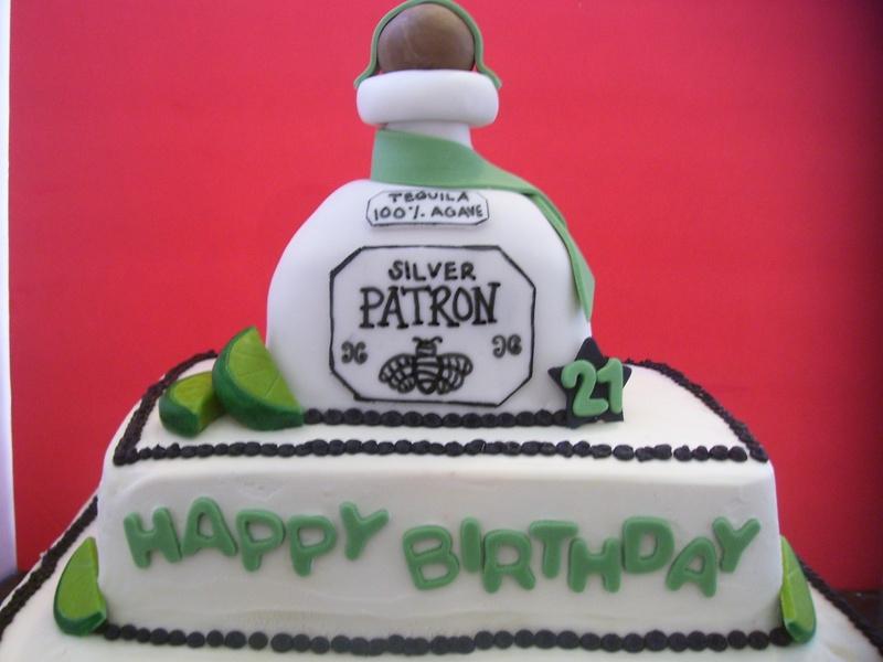9 Happy Birthday Patron Cupcakes Photo Patron Birthday Cake Ideas