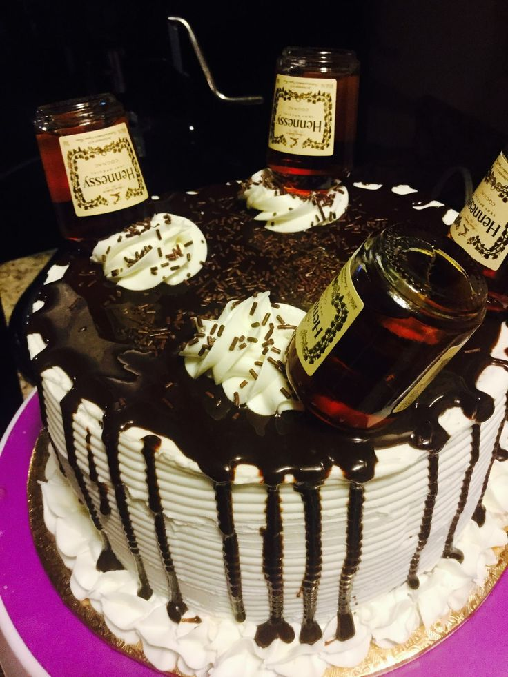 Enjoyable 9 Hennessy Birthday Cakes For Guys Photo Hennessy Birthday Cake Funny Birthday Cards Online Alyptdamsfinfo