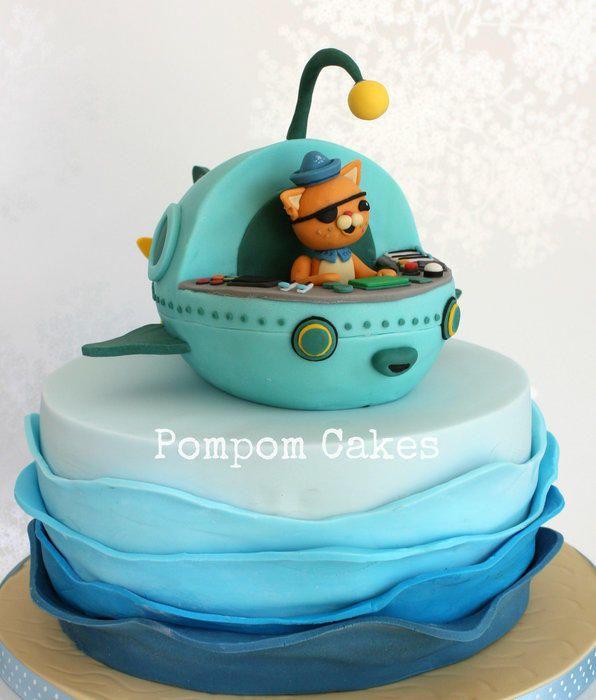 Outstanding 11 Gup C Octonauts Birthday Cakes Photo Octonauts Cake Funny Birthday Cards Online Necthendildamsfinfo