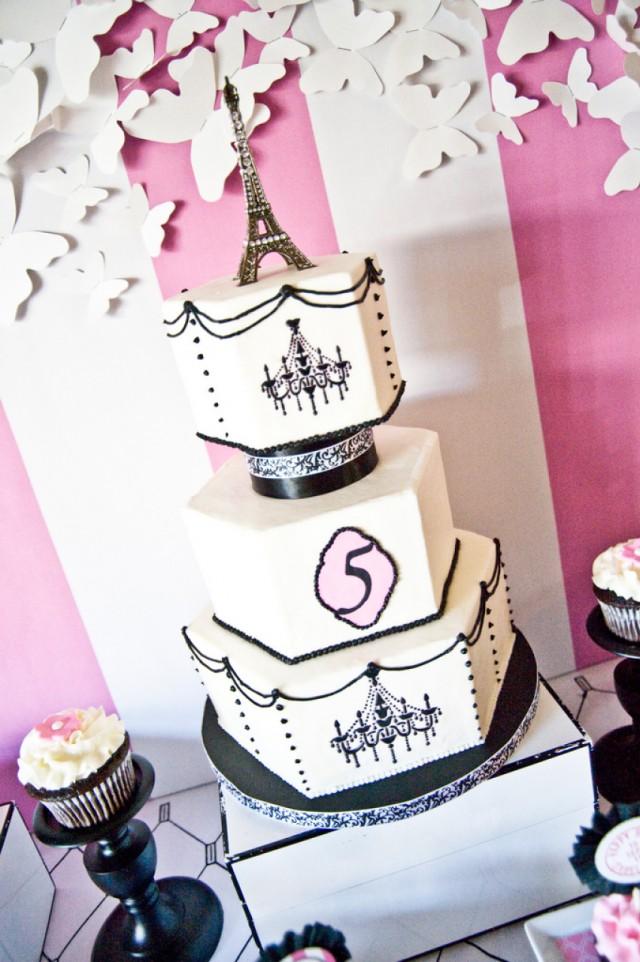 Tremendous 9 Paris Party Birthday Cakes Photo Paris Themed Birthday Party Funny Birthday Cards Online Fluifree Goldxyz