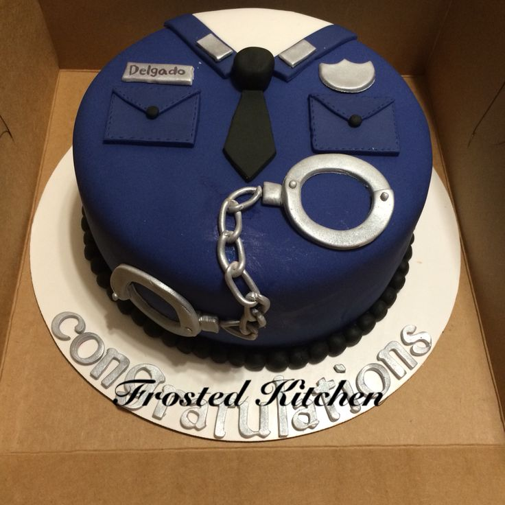 Magnificent 12 Law Enforcement Themed Cakes Photo Police Officer Cake Funny Birthday Cards Online Necthendildamsfinfo
