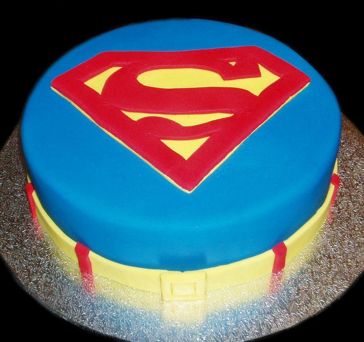 10 4 Tier With Cake Boss Birthday Cakes Superman Photo Superman
