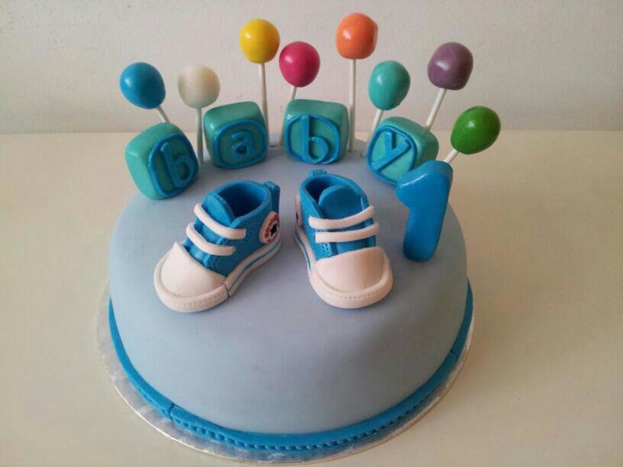 Superb 6 Cupcake Birthday Cakes For A 1 Year Old Boy Photo 1 Year Old Funny Birthday Cards Online Inifodamsfinfo