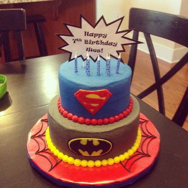 7 Year Old Boy Birthday Cake