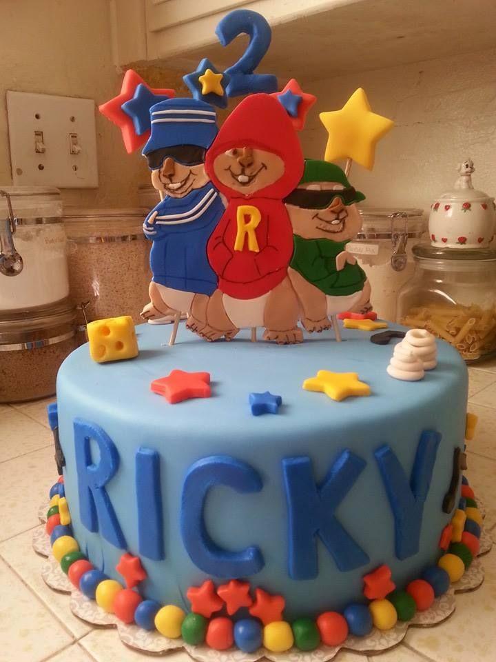 Superb 8 Alvin And The Chipmunks Bday Cakes Photo Alvin And Chipmunks Funny Birthday Cards Online Sheoxdamsfinfo