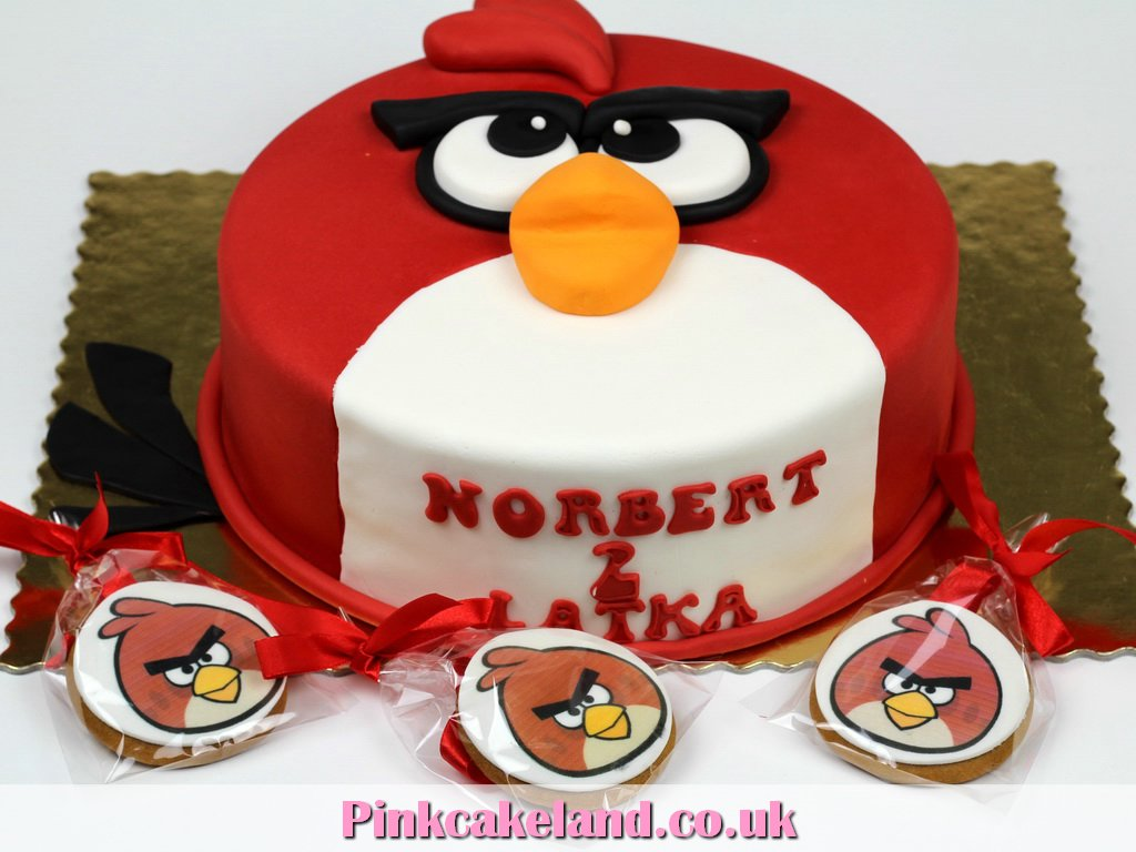 5 Birds With Womens Birthday Cakes Photo Angry Birds Bird Cage