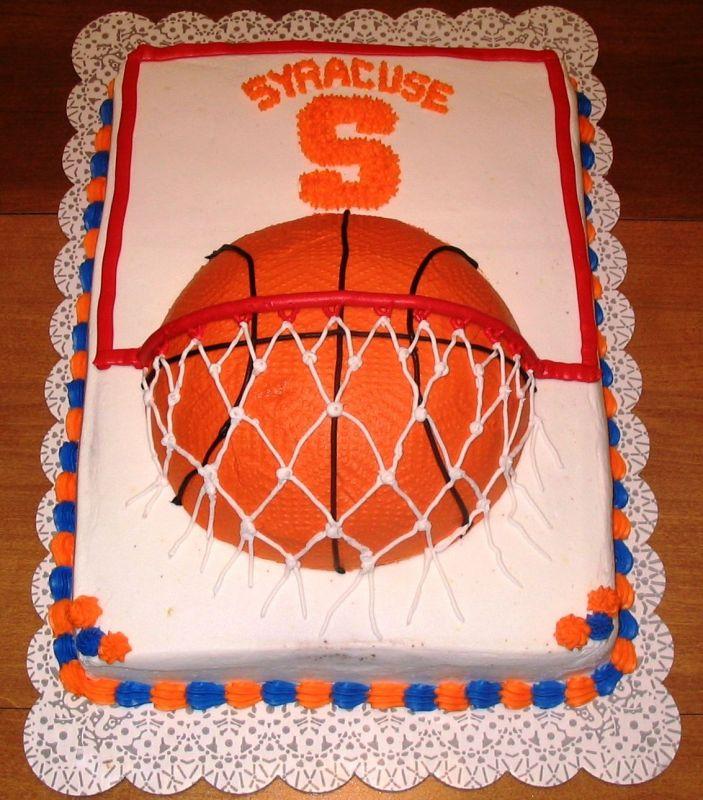 8 Basketball Cakes With People Photo Basketball Cake