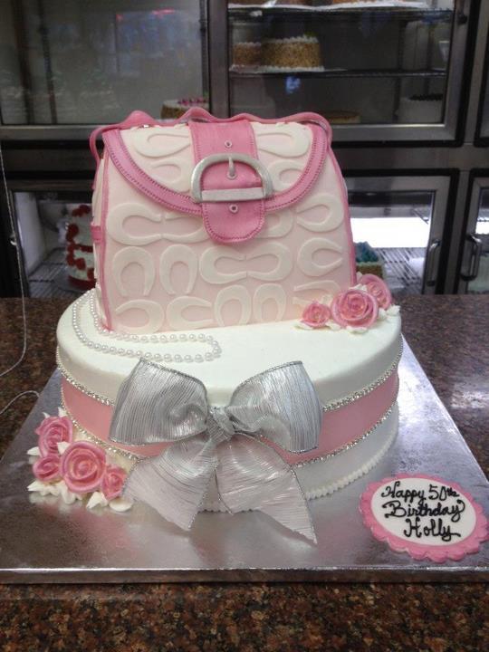 9 Cakes Shaped Like Bags Photo