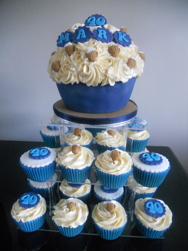 Cupcake Birthday Cakes For Men