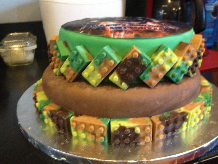 Stupendous 6 Mega Bloks Halo Cakes Photo Halo Birthday Cake Ideas Halo Birthday Cards Printable Nowaargucafe Filternl