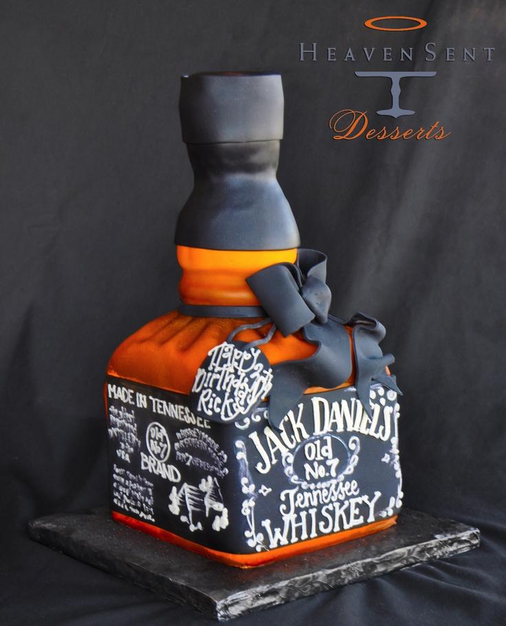 11 Whisky Bottle Grooms Cakes Photo Liquor Bottle Grooms Cake