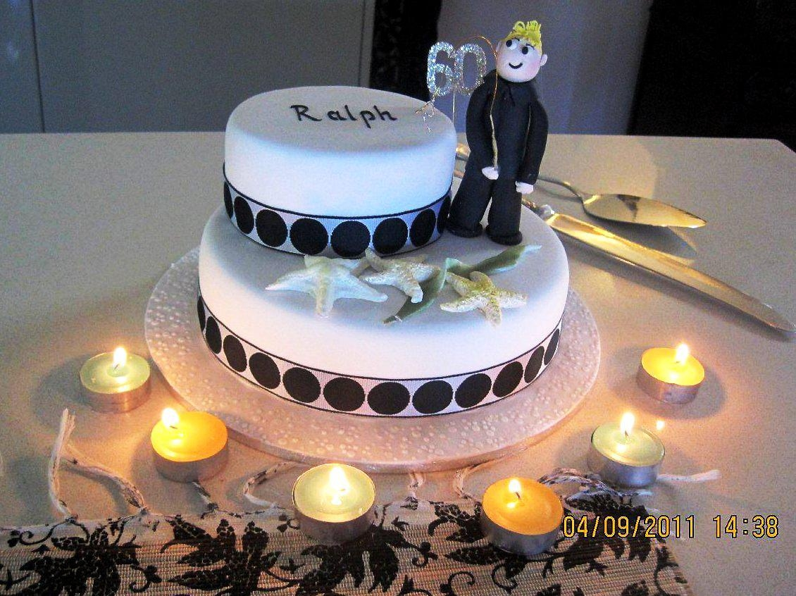 9 Decorated Cakes For Guys Photo Men 40th Birthday Cake Ideas