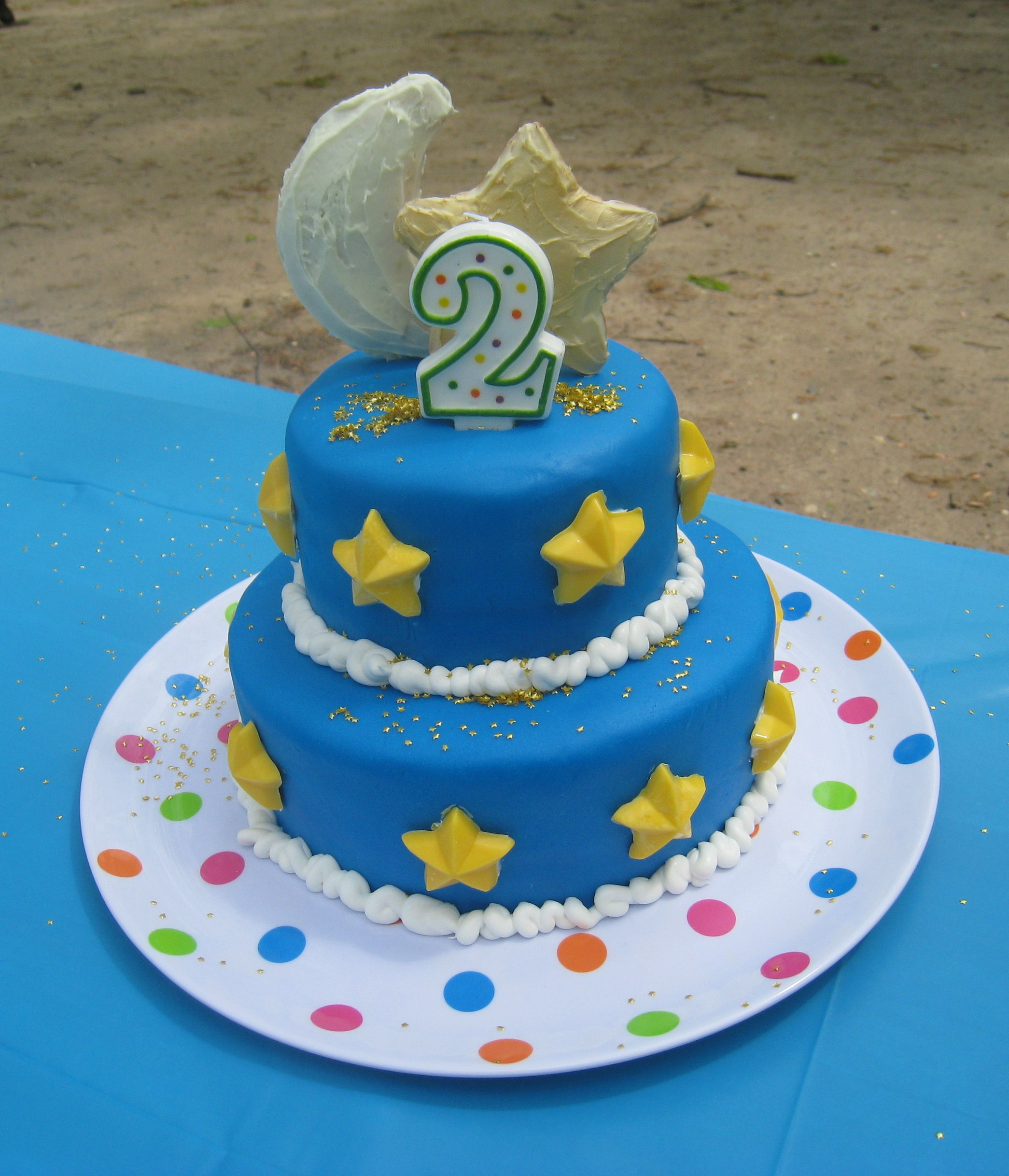 Moon And Stars Birthday Cakes