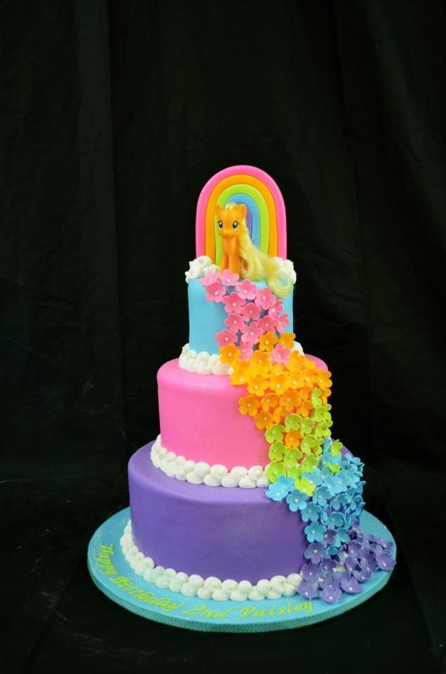 Super 12 Pony Birthday Cakes For Girls Photo My Little Pony Birthday Funny Birthday Cards Online Overcheapnameinfo