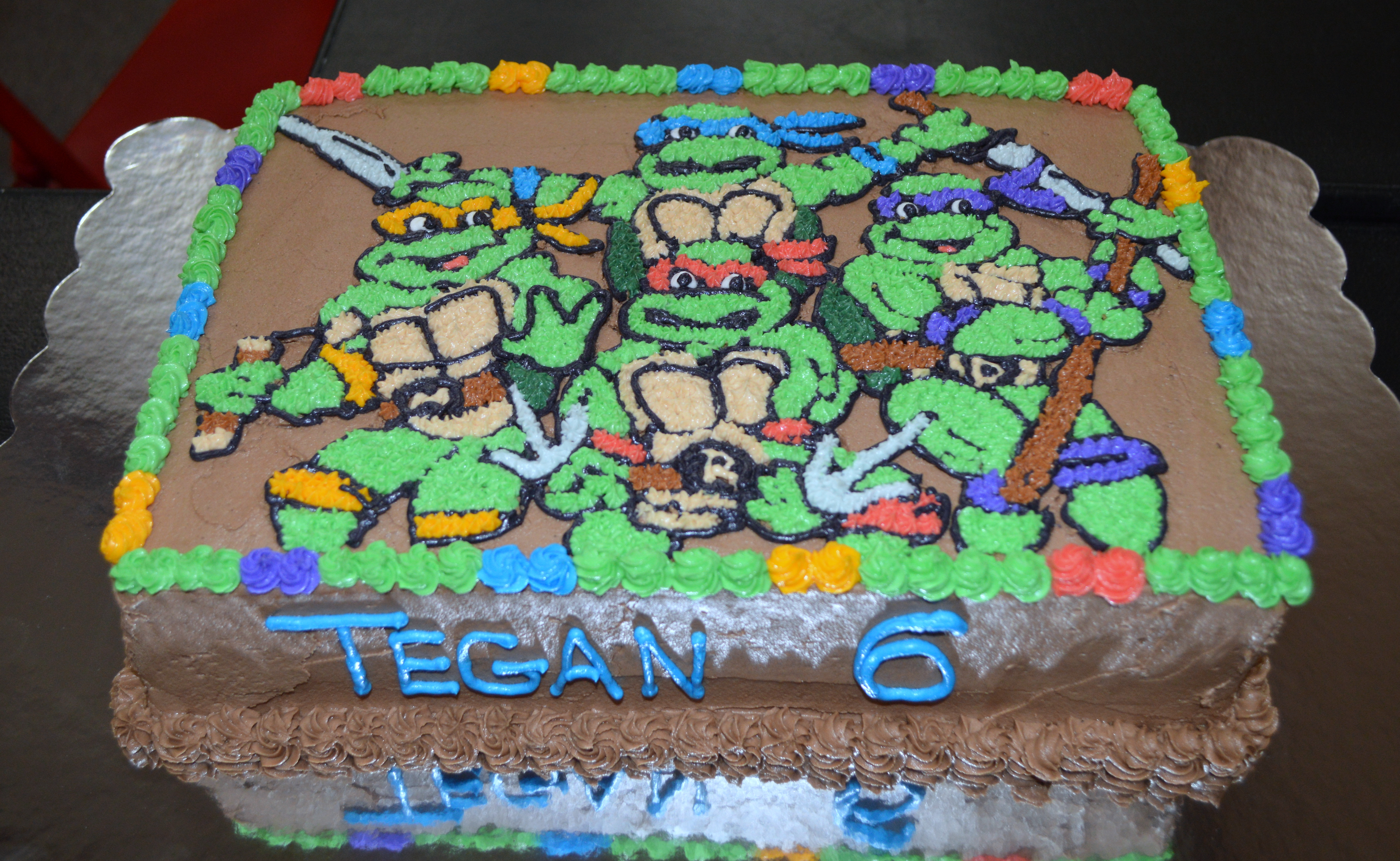 Teenage Mutant Ninja Turtles Sheet Cake Erkalnathandedecker