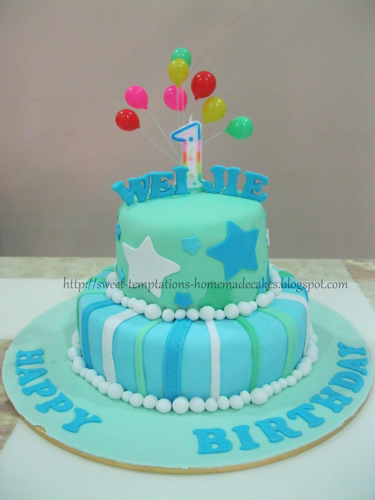 89 Birthday Cake For 1 Yr Boy 1 Year Old Boy Birthday Cake 39