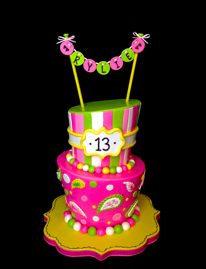 10 Cool 13th Birthday Cakes For Girls Photo Girls 13th Birthday