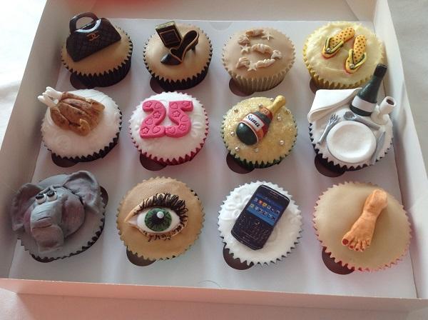 Sensational 6 Birthday 25Th Birthday Cupcakes Photo 25Th Birthday Cupcake Birthday Cards Printable Nowaargucafe Filternl