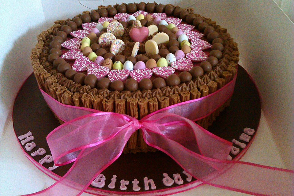 10 Beautiful Chocolate Cakes For Women Photo Beautiful Chocolate