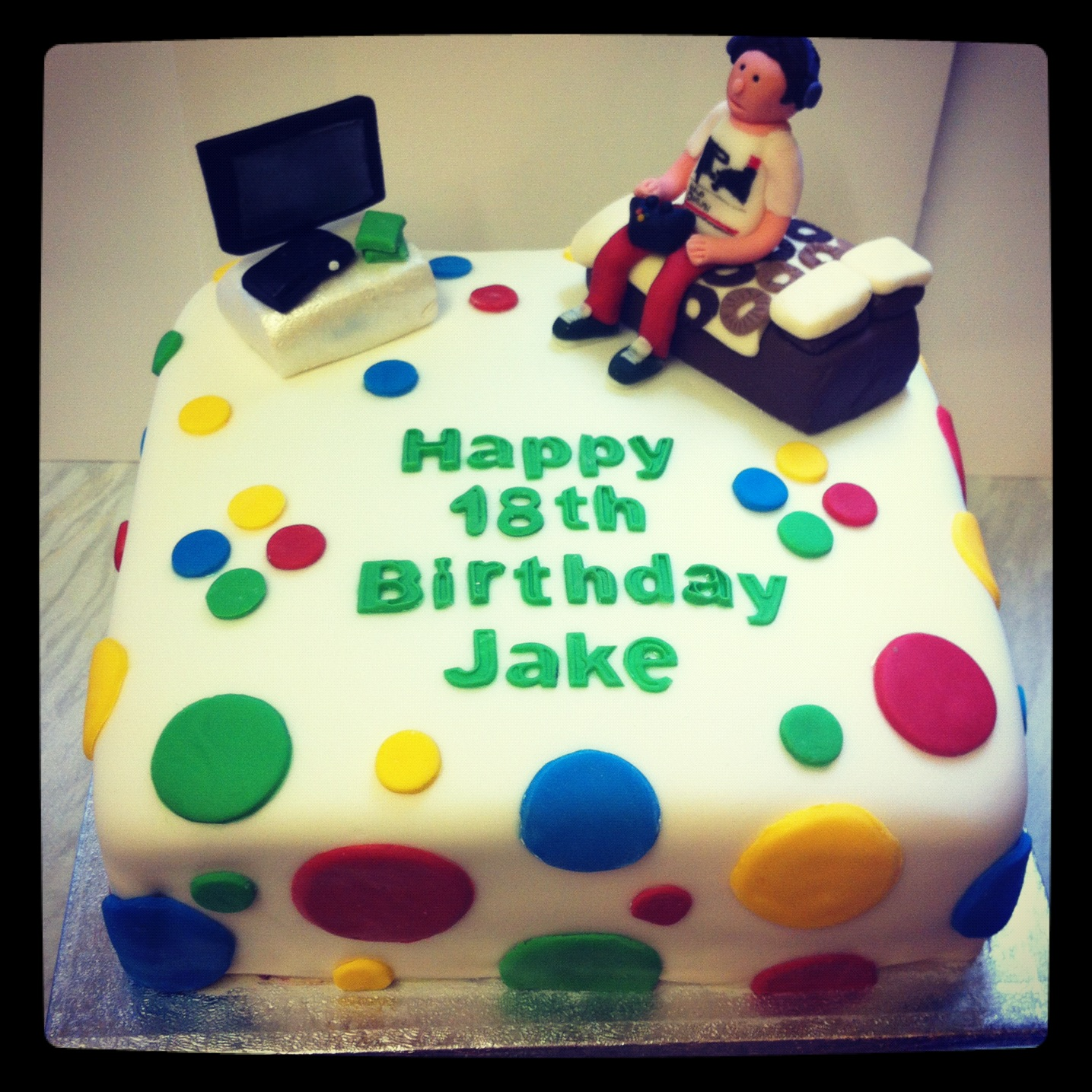 Strange 18Th Birthday Cake Designs For Males Personalised Birthday Cards Veneteletsinfo
